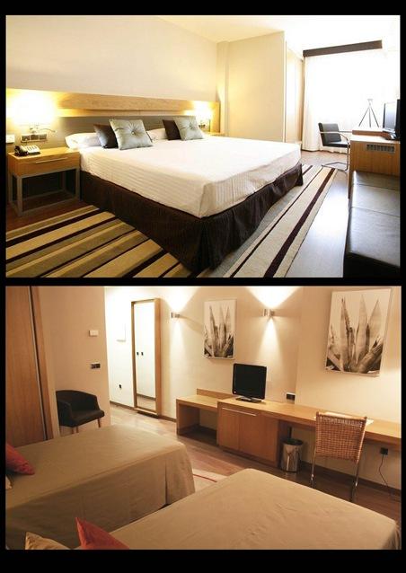 HOTEL HUSA MALAGA INTERIOR HABITACIONES copia
