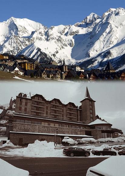 hotel montaña-fachada-entorno-pirineos aragoneses