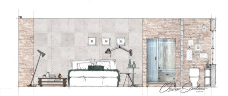 hotel-boceto habitación tipo hotel-oscar santome diseño-interiorismo betanzos-diseño contract a coruña