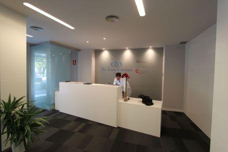 oss diseño- clinica cabrera madrid recepcion