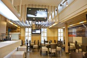 oss diseño-restaurante sousantos-alcalde marchesi-diseño e interiorismo-proyecto de decoracion-oscar santome- foto detalle techo espejo