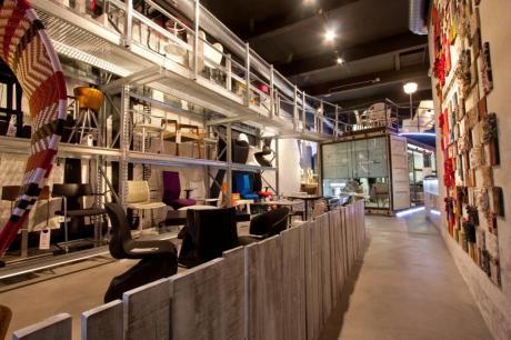 diseño e interiorismo-oscar santome-vista general1-diseño showroom coruña