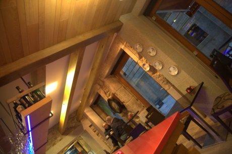 vista interior02-diseño de barra de madera-forno alameda-a coruña-oss diseño-oscar santome-diseño interior-interiorismo-proyecto de decoracion hostelería