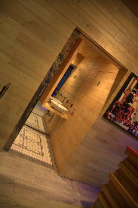 vista interior03-diseño de barra de madera-forno alameda-a coruña-oss diseño-oscar santome-diseño interior-interiorismo-proyecto de decoracion hostelería