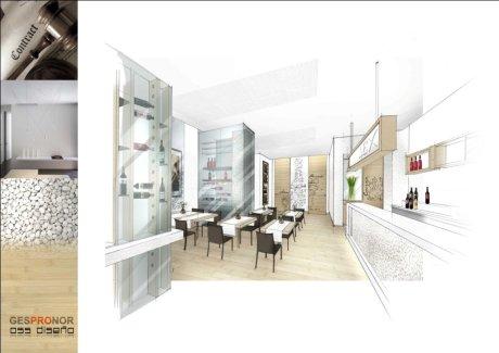 diseño para hosteleria en coruña-oss diseño-oscar santome-anteproyecto restaurante taperia vinoteca