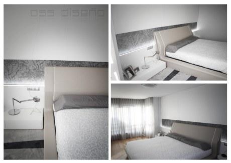 dormitorio-diseño de piso en a coruña-decoracion-mobiliario a medida-minimal-carpinteria a medida-oscar santome diseño-estudio-oss diseño