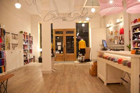 Oscar Santome Diseño- Diseño de tienda de lanas-Vista general 02-Proyecto de interiorismo en edificio protegido ecléctico